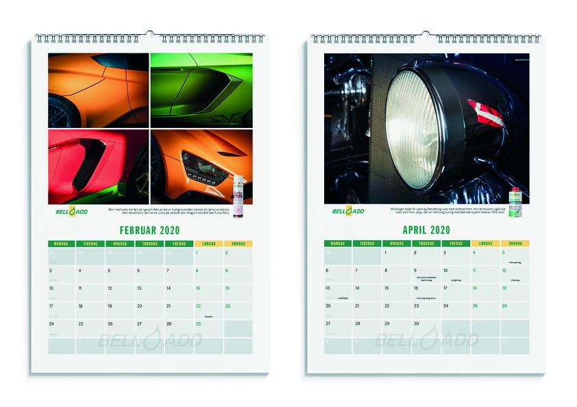 2020 kalenderen